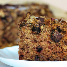 Chocolate Chip Date Nut Squares.