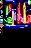 Screenshot of Glow Doodle