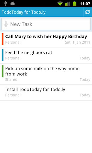 TodoToday for Todo.ly