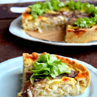Swedish Anchovy & Onion Pie