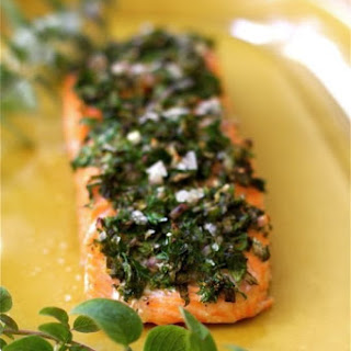 Oven Baked Salmon Fillets
