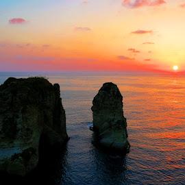 The Rock  by Anto Boyadjian - Landscapes Sunsets & Sunrises