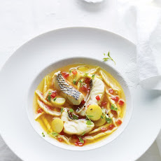 Black Bass Bouillabaisse with Trofie Pasta