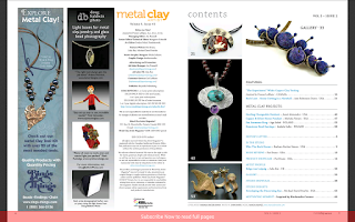 Screenshot of Metal Clay Artist