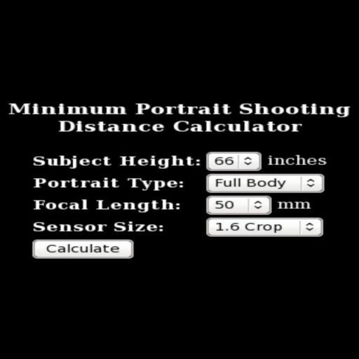 Portrait Distance Calculator LOGO-APP點子