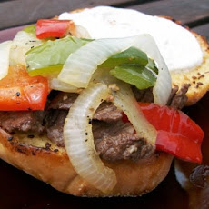 Gourmet Alley Steak Sandwich