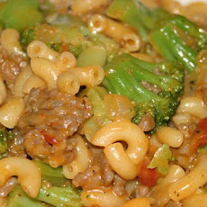 Sausage Macaroni Supper
