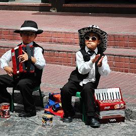Street music by Anna Tatti - City,  Street & Park  Street Scenes (  )