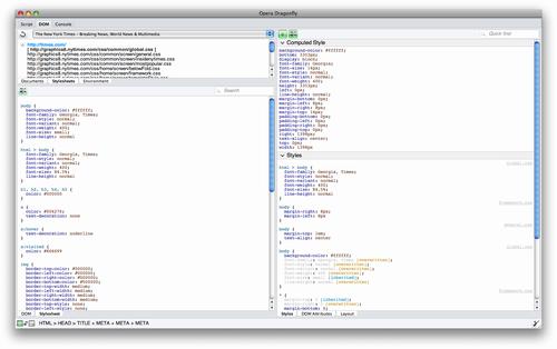 Opera9.5に搭載されているDragonflyが便利な件
