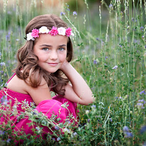 Among the Flowers by Melissa Papaj - Babies & Children Child Portraits ( glamour, child, girl, children., female, garden )