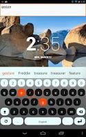 Screenshot of English Keyboard Plugin