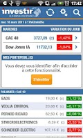 Screenshot of Investir