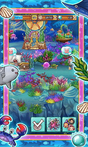 Ocean Aquarium Pocket Island