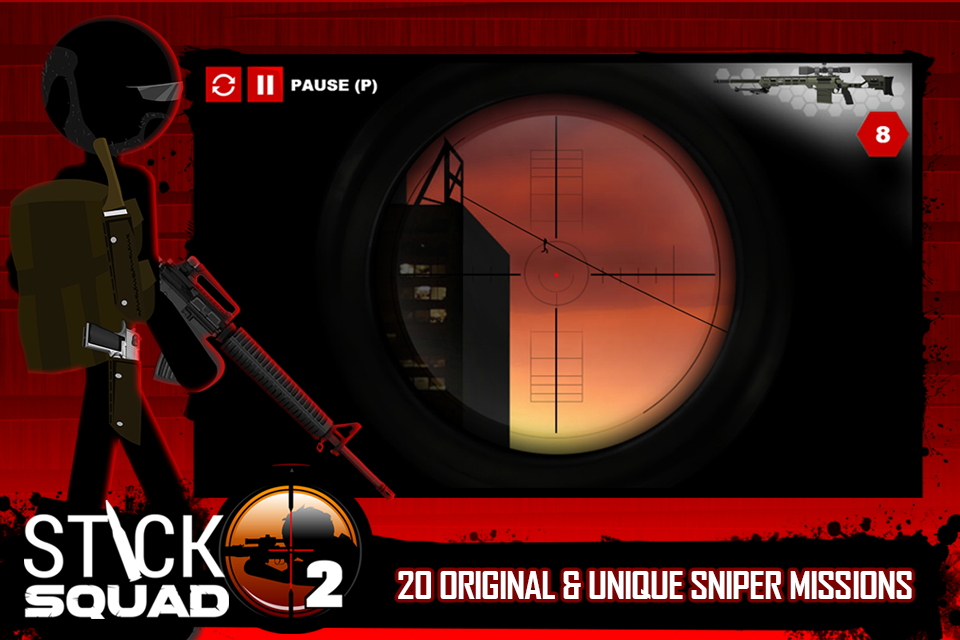 Stick Squad 2 - Shooting Elite Screenshot 1