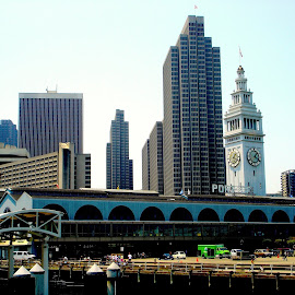 San Francisco ferry dock by Rudy Mendoza - Buildings & Architecture Office Buildings & Hotels