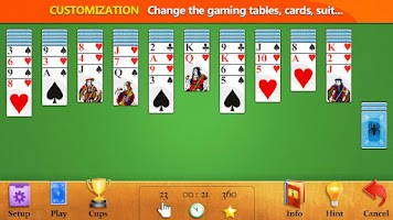Screenshot of Easy Spider Solitaire