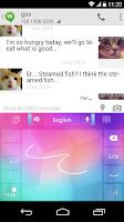 Screenshot of CNHandwriting for GO Keyboard
