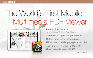 Screenshot of ezPDF Reader - Multimedia PDF