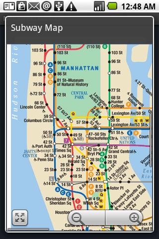 Nyc Subway Map Manhattan Only