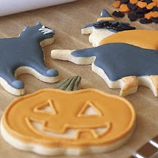 Halloween Cutout Sugar Cookies