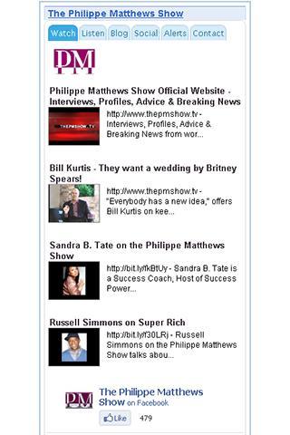 The Philippe Matthews Show