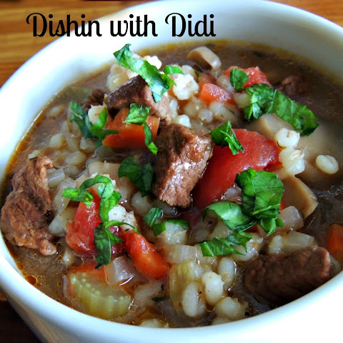 Hearty Beef 'n Barley Soup (Pantry/Freezer Items)