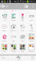 Screenshot of 2014 go launcher theme