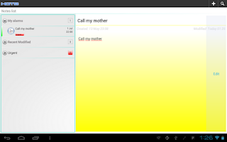 Screenshot of Kote - Notepad