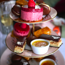 Milk and Sugar's Great British afternoon tea