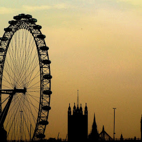 London Skyline by Gaurav Dhup - Buildings & Architecture Statues & Monuments