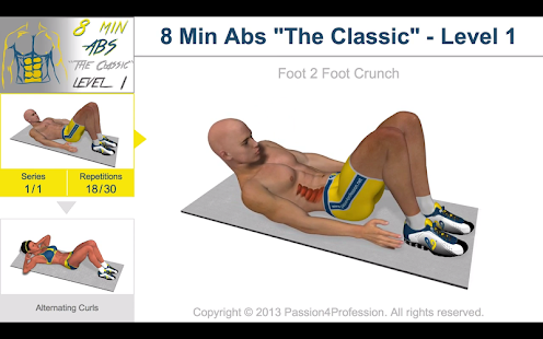 Download Full 8 Minutes Abs Workout 2.5.7 APK