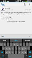 Screenshot of HulloMail Smart Voicemail