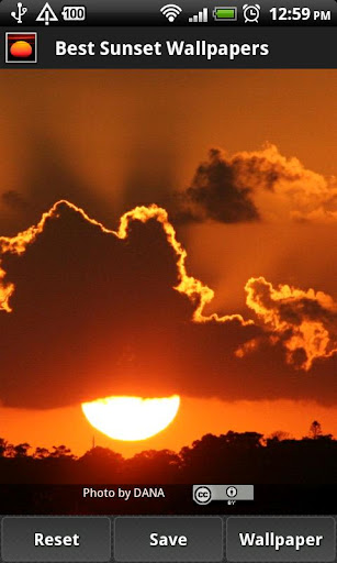 免費個人化App|Best Sunset Wallpapers|阿達玩APP