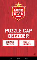 Screenshot of Lone Star Puzzle Caps Decoder