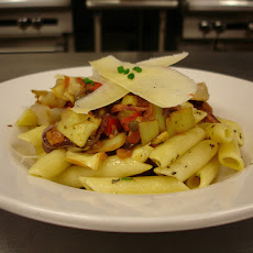 Penne with Calamari and Malvasia