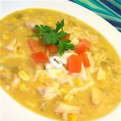 Creamy Chicken and Sweetcorn Chowder