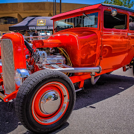 Blacktop Nationals Rod by Ron Meyers - Transportation Automobiles ( 2014 blacktop nationals )
