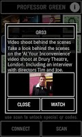 Screenshot of Professor Green Official App
