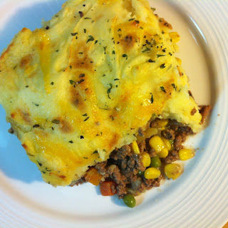 Shepherd's Pie with Cheesy Potatoes