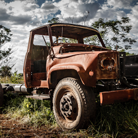 Old Timer by Izak Van Dyk - Transportation Automobiles