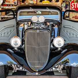 Hotrod by Craig Eccles - Transportation Automobiles ( car, automobile, street, chrome, hotrod, auto, hot rod, street machine )