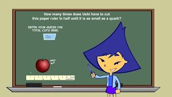 Screenshot of Quarked! Ushi's Ruler Game