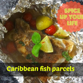 Caribbean Fish Parcels - Slow Cooker