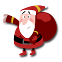 Funny Santas & Christmas FREE icon
