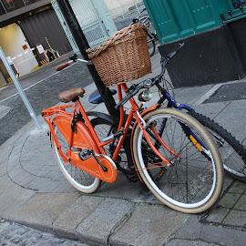 Bike by Rober Soares - Transportation Bicycles ( orange, ireland, bike, dublin )