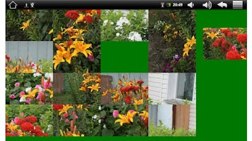 Screenshot of Photo puzzle game