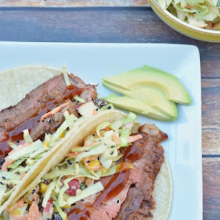 BBQ Flank Steak Tacos