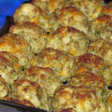 Potato Sausage Balls