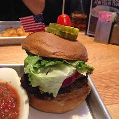Delish. Gf & df schueman burger!