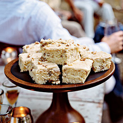 Walnut Cake with Praline Frosting